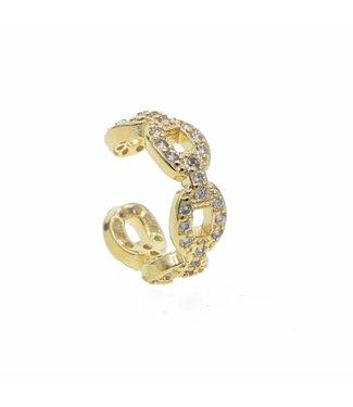 Gold Chain Earcuff
