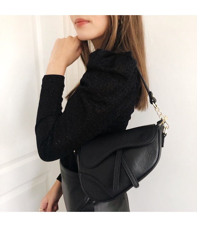 Lulu Moon Bag / Black