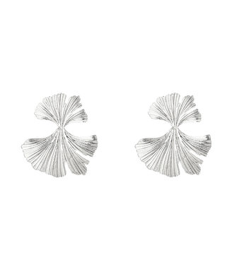Silver Pretty Petals Earrings