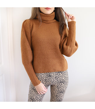 Rylie Knit Sweater / Camel