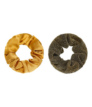 Dawn Scrunchie Set / Gold