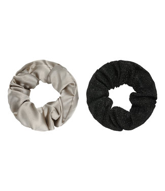 Dawn Scrunchie Set / Black
