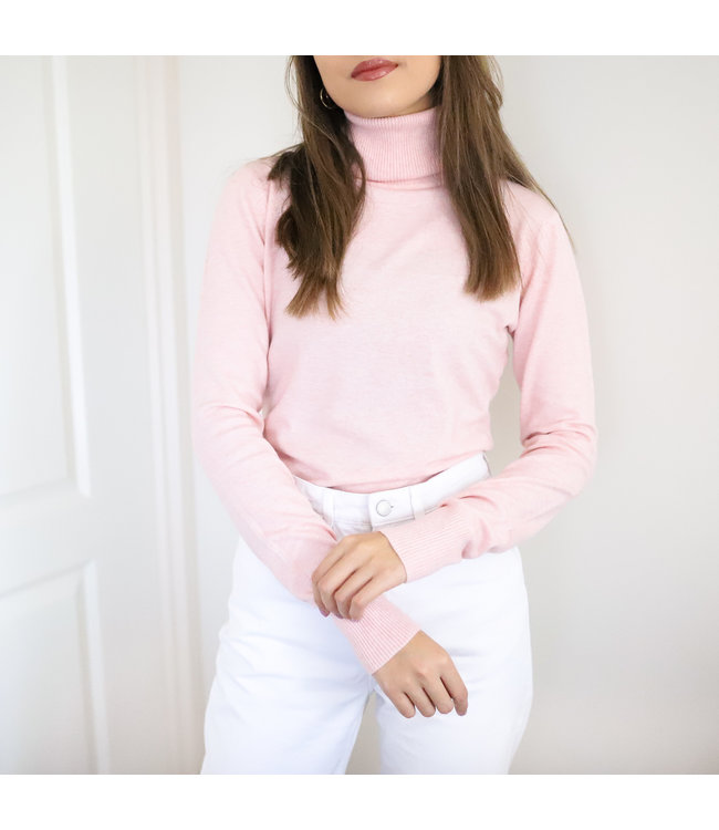 Tamara Turtleneck Knit / Pink