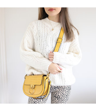 Selma Oversized Knit Sweater / Off White