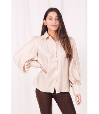 Colette Shiny Blouse  / Champagne Pink