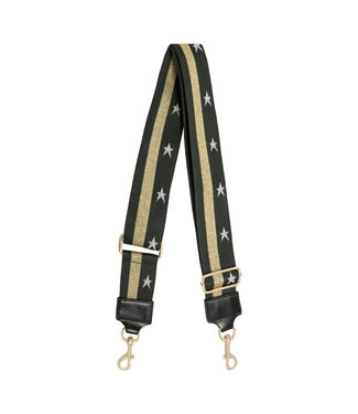 STAR & STRIPE BAG STRAP / GOLD