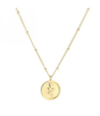 Gold La Rosa Necklace