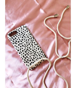Kenzie Cheetah Phone Case Cord / Sand