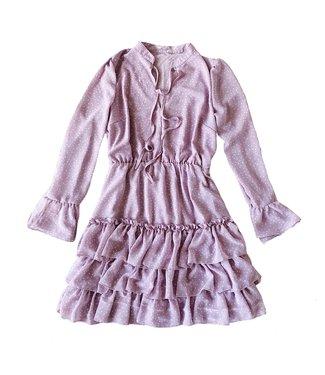 Bibi Dots Dress / Lilac