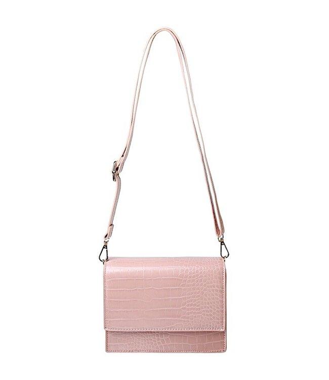 Imani Croco Bag / Pink