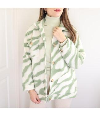 Salome Zebra Jacket / Green