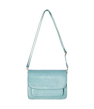 Sage Croco Bag / Mint Turquoise