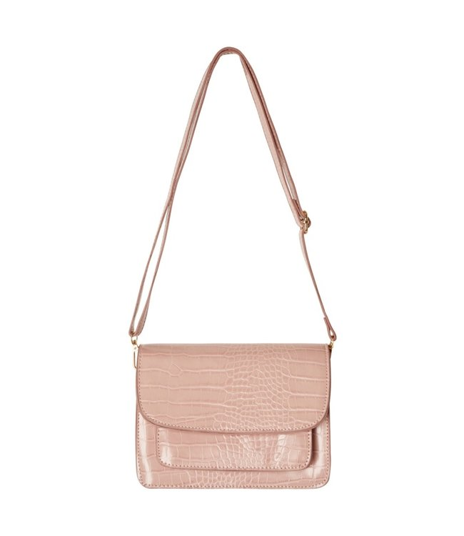 Sage Croco Bag / Pink