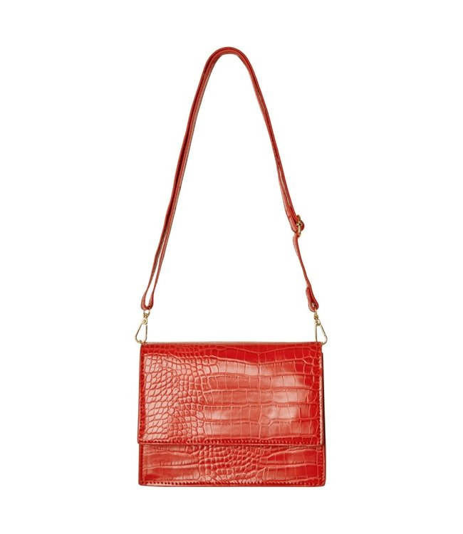 Imani Croco Bag / Red