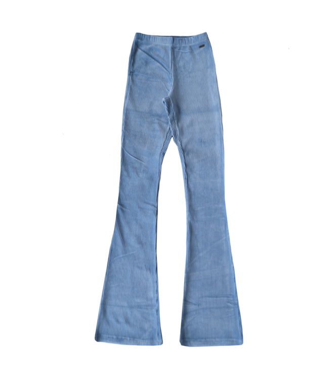 Corduroy Flared Trousers / Bright Blue