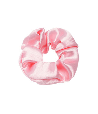 Cara Satin Scrunchie / Bubblegum Pink