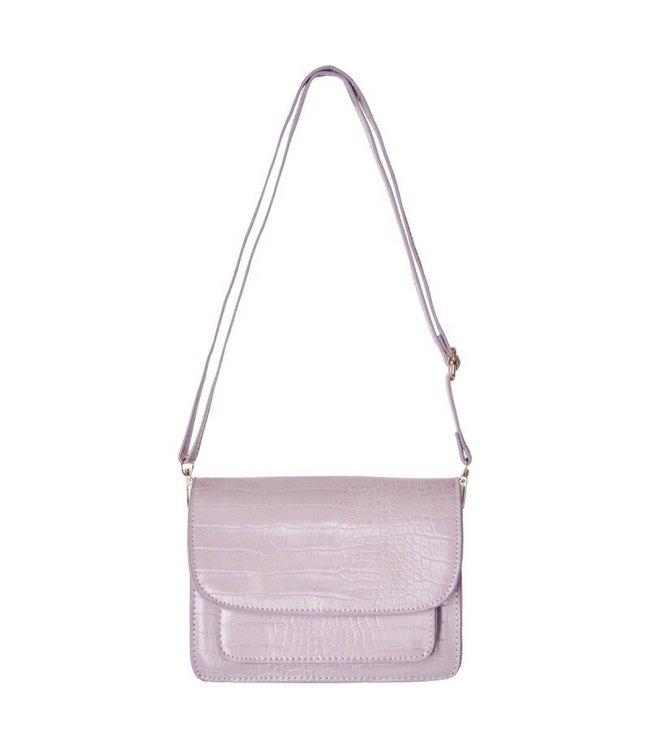Sage Croco Bag / Lilac