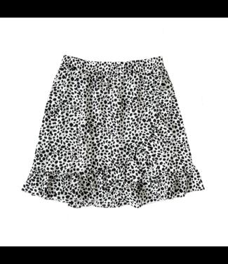 Erin Dots Skirt / White