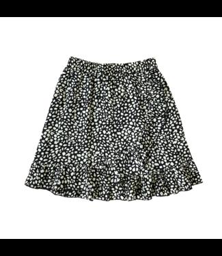 Erin Dots Skirt / Black