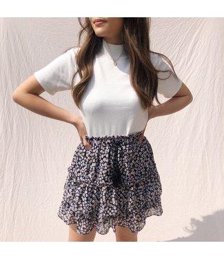 Emiya Flower Skirt / Black