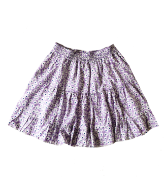 Domina Flower Skirt / Lilac