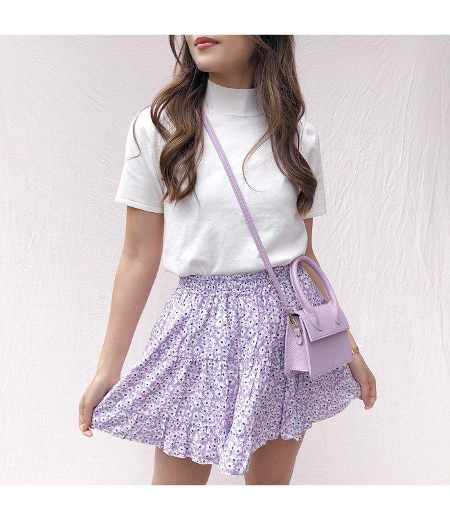 Domina Flower Skirt / Lilac