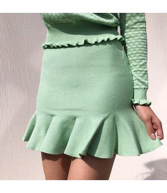 Amara Basic Skirt / Green