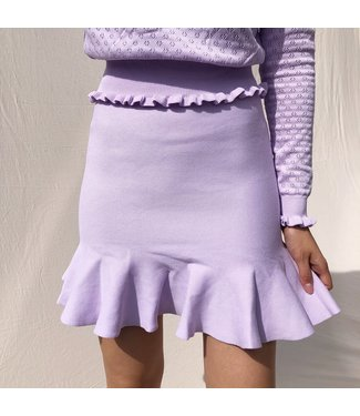 Amara Basic Skirt / Lilac