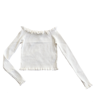 Anthea Off Shoulder Top / White
