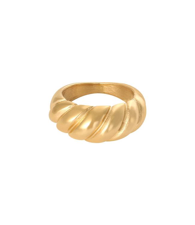 Gold Baguette Ring