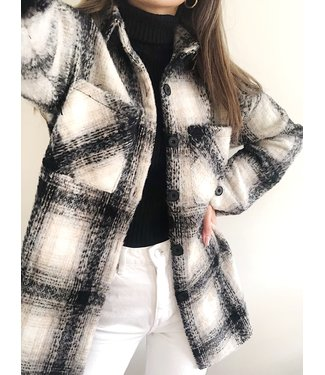 Alyx Checkered Jacket / Black
