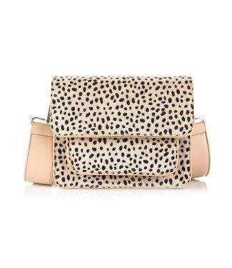 Noralee Cheetah Bag / Beige