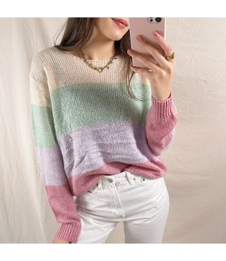 Yuria Striped Sweater / Multi