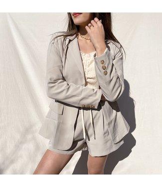 Zyra Tailored Blazer / Beige