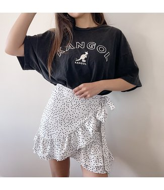 Freyah Dots Skirt / White