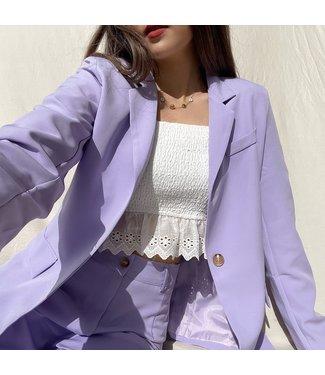 Zyra Tailored Blazer / Lilac
