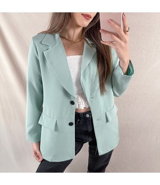 Jaya Loose Fit Blazer / Green