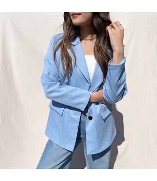 Jaya Loose Fit Blazer / Blue