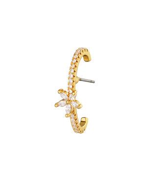 Gold Flora Earring