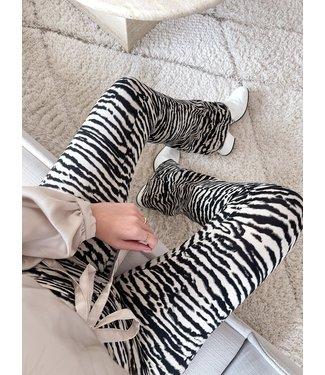 Nouk Zebra Flared Leggings