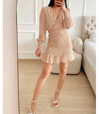 Fia Flower Smock Dress / Pink