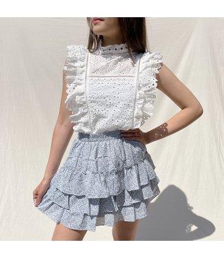 Sommer Flower Skirt / Blue