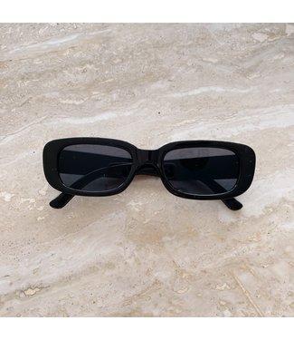 Riku Retro Sunglasses / Black