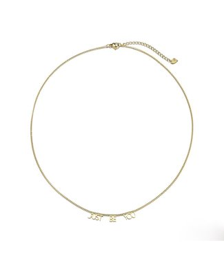 Gold Just Be You Necklace