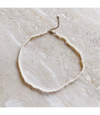 Little Pearl Beads Necklace