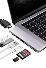 Minix MINIX NEO  USB-C Multiport Adapter voor Macbook Pro Space Grey