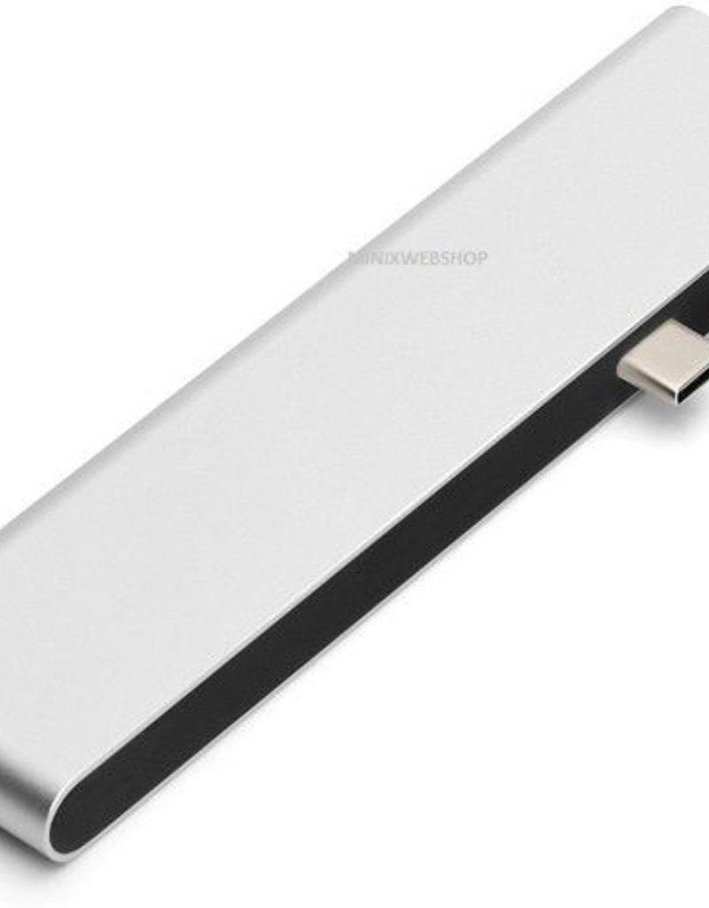 Minix MINIX NEO  USB-C Multiport Adapter voor Macbook Pro -  Silver