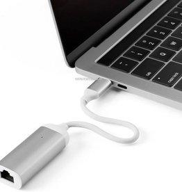MINIX MINIX NEO-C-EGR USB-C RJ-45 UDB-C naar GigaBit Ethernet adapter Zwart, Grijs  - Copy