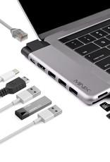 Minix MINIX NEO  USB-C Multiport Adapter voor Macbook Pro / Air Space Grey