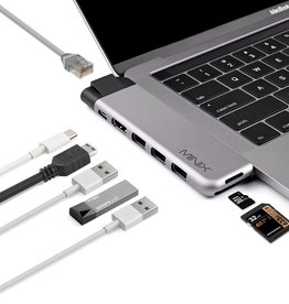 Minix MINIX NEO  USB-C Multiport Adapter